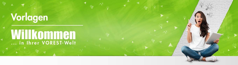 Banner Six Sigma Vorlagen der VOREST AG